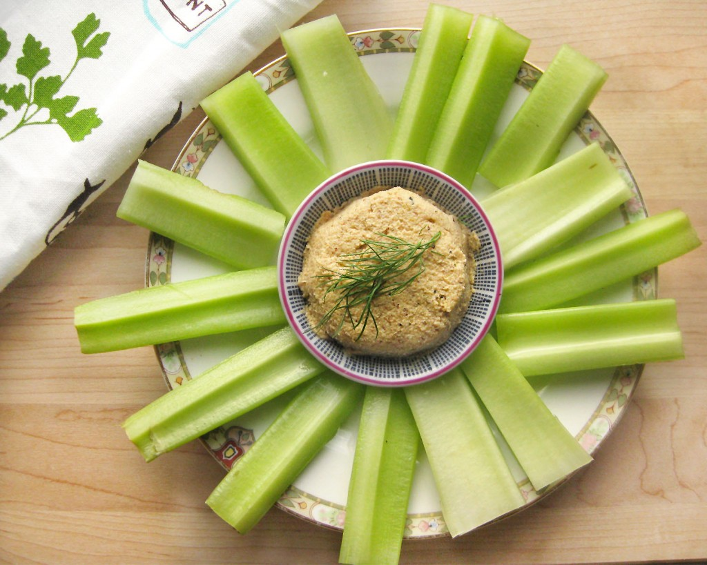 Vegan Cauliflower Hummus by Queen of Quinoa