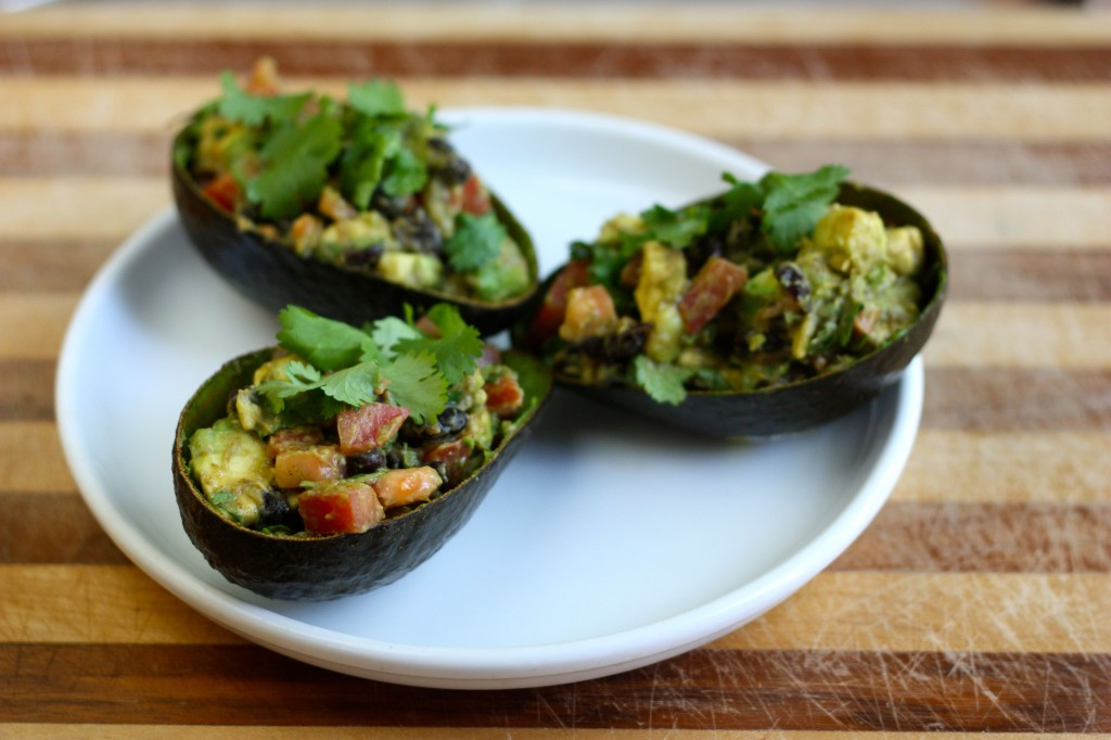 TexMex-stuffed Avocados