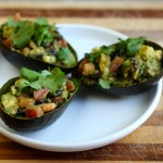 Mexicali-stuffed Avocados