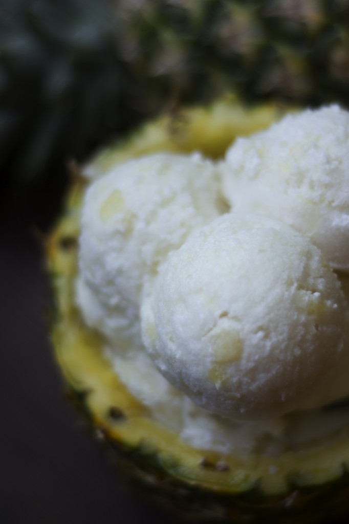 Pina Colada Vegan Ice Cream