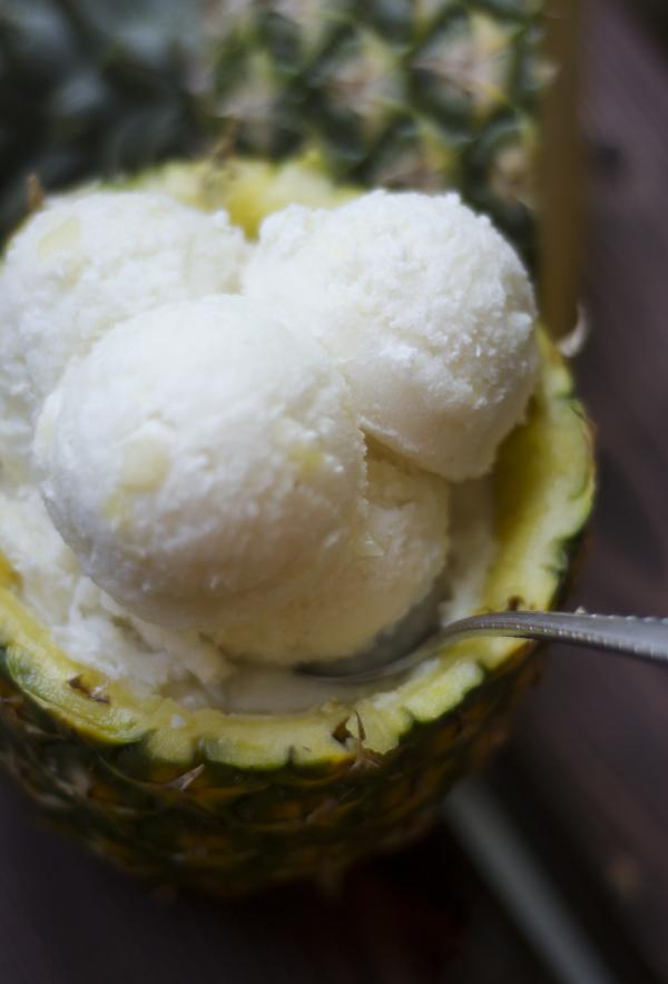 Pina Colada Vegan Ice Cream