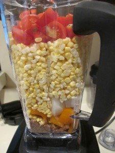 Blending corn for corn chips