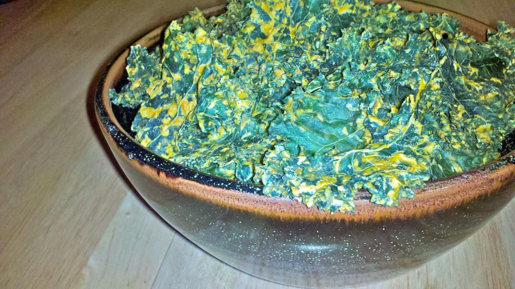 Nacho Kale Chips by Alyssa