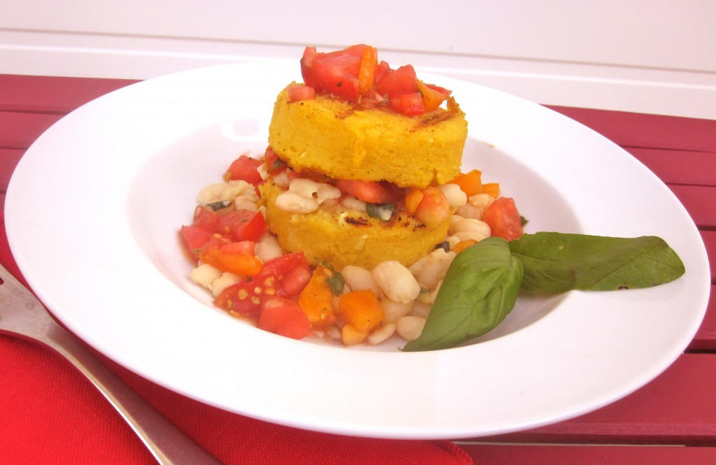 Grilled Polenta by Cadry's Kitchen