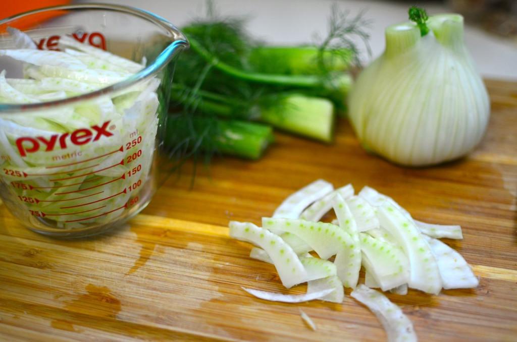fennel chopped
