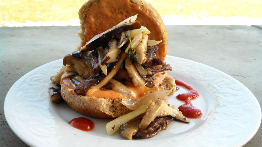 shiitake sliders