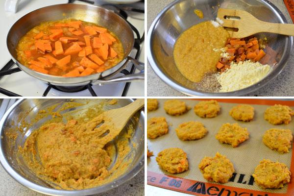 Making-red-lentil-cakes