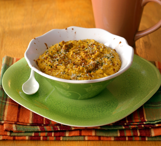 Ricki's kabocha porridge