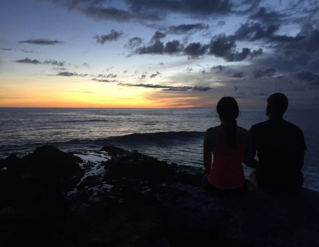 Canggu Bali Sunset